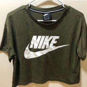 Nike crop top